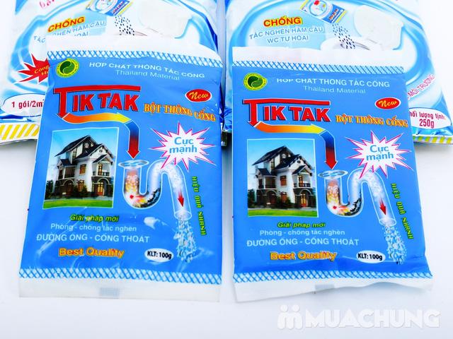 2 gói Bio bể phốt công nghệ sinh học + 2 gói bột thông cống Tiktak - 8