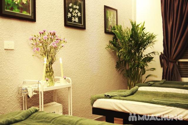 Massage cổ, vai, gáy, xông hơi, xông khô kèm ăn nhẹ tại Xaam Spa - 4