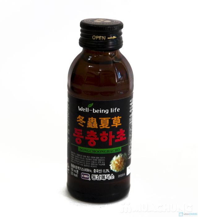 10 chai nước uống đông trùng hạ thảo Hàn Quốc, hộp 10 chai x 100ml - 5