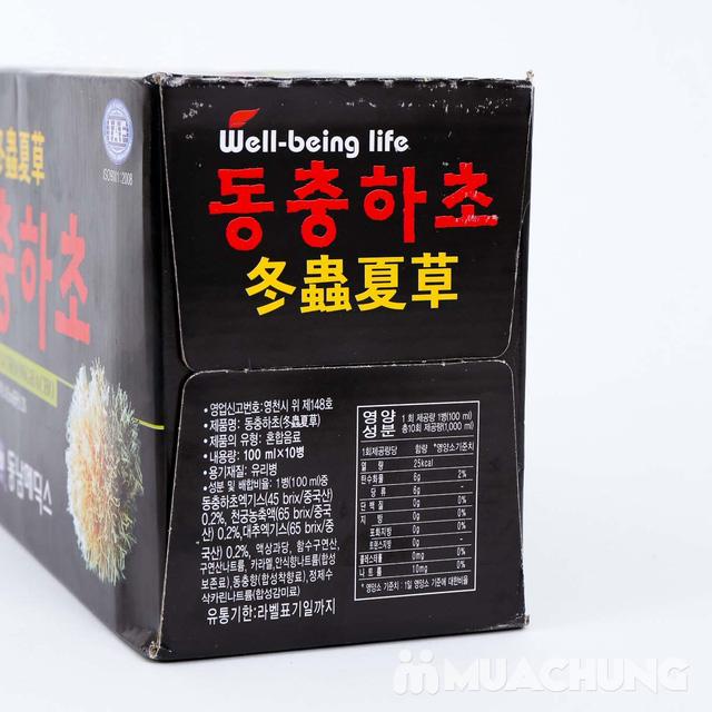 10 chai nước uống đông trùng hạ thảo Hàn Quốc, hộp 10 chai x 100ml - 7