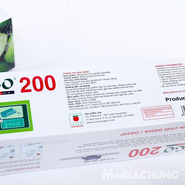 2 hộp Màng bọc thực phẩm Ringo 200  - 6