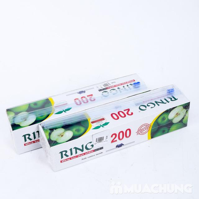 2 hộp Màng bọc thực phẩm Ringo 200  - 5