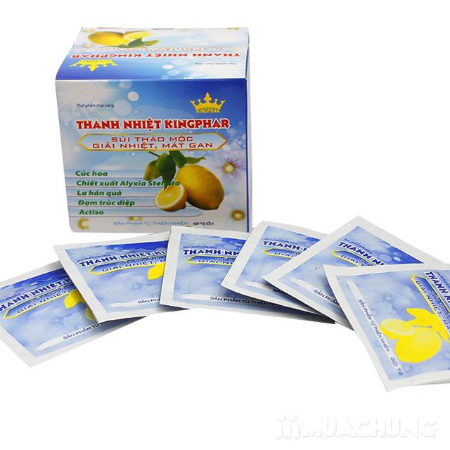 3 hộp trà thanh nhiệt Kingphar (12 gói/ 1 hộp) - 1