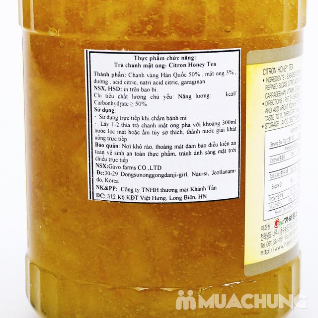 Mật ong chanh Hàn Quốc lọ 1kg - 6